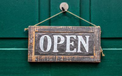 Geänderte Öffnungszeiten