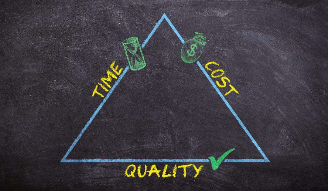 Qualität, Zeit und Kosten